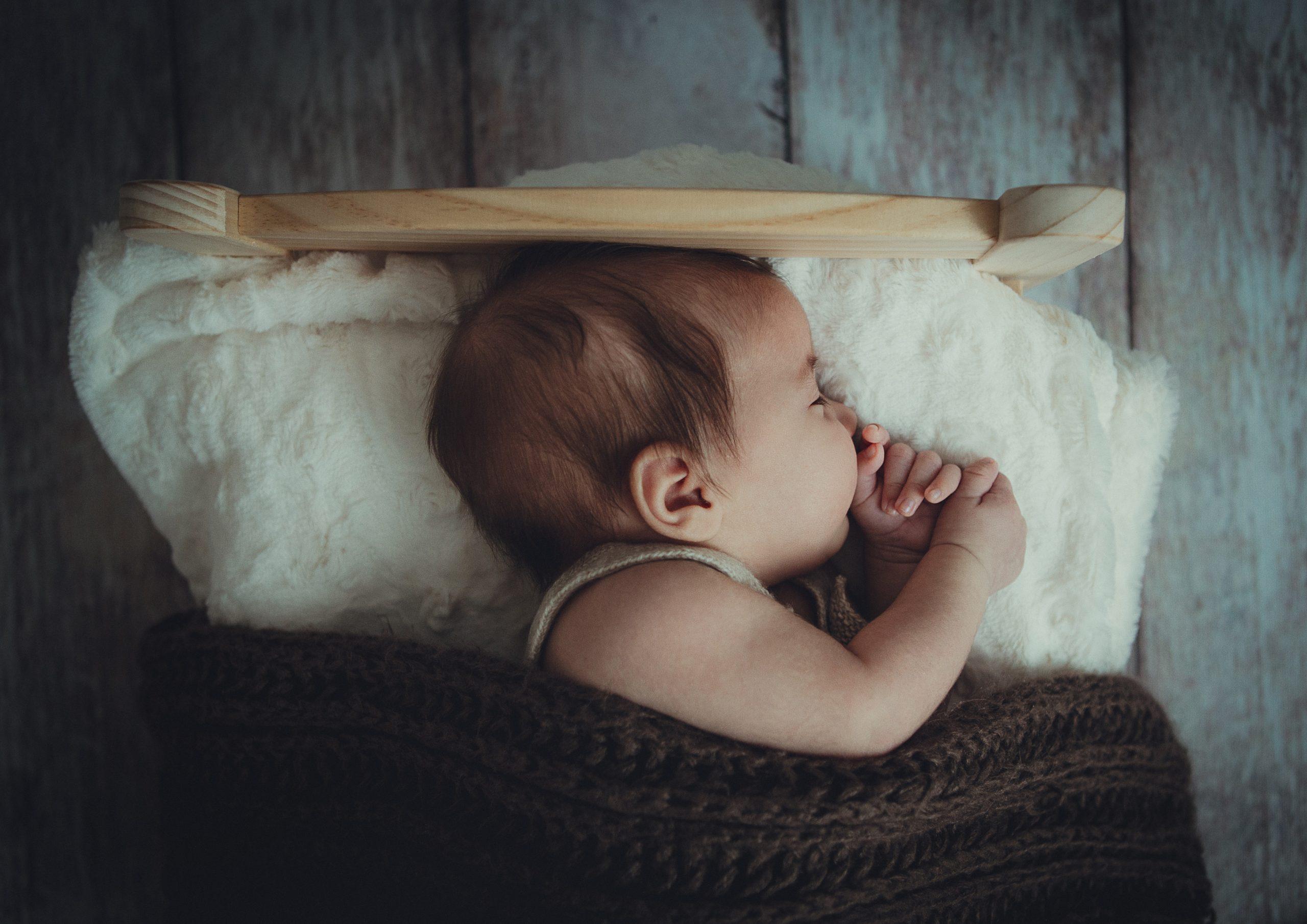baby sick injured